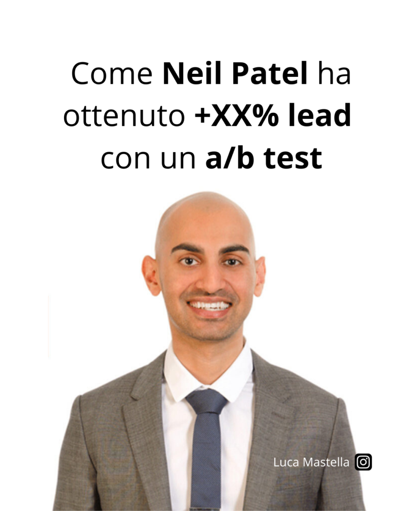 Come Neil Patel ha aumentato del 39% l'optin rate | Growth Tips